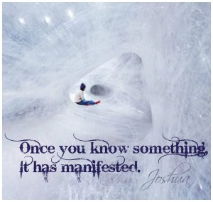 Ice cave - know=manifestation