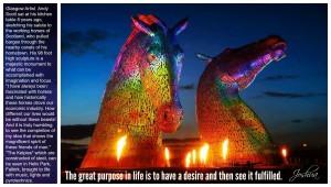fulfilled desire - horse sculpture