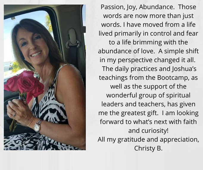 Christy Testimony